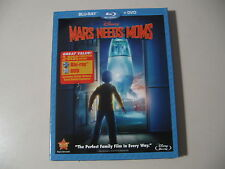Mars Needs Moms (Blu-ray/DVD, 2011, 2-Disc Set) Brand New and Sealed