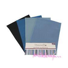 Dovecraft Panneaux de Feutre Bleu format A4