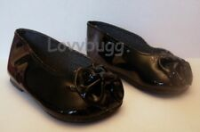 """Black Bow Shoes for 23"""" Girl Twinn Doll Clothes Widest Selection"""