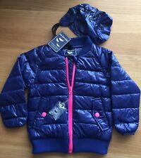 Harvey & Jones Baby Girl's Lightweight tampon Down Jacket Size: 1-2 Years BNWT