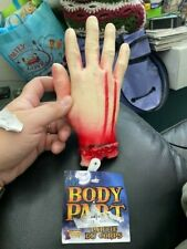Bloody Body Part Severed Hand Halloween Costume Prop New!!!