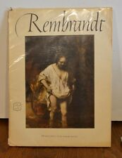 SALE PRICE / Rembrandt 16 BEAUTIFULL FULL COLOR PRINTS AN Abrams ART BOOK