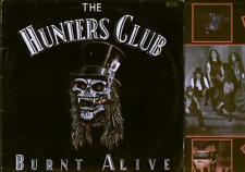 Les chasseurs Club brûlé vif LP avec pochette intérieure, 9 track vinyl album, cochon 003 (VG