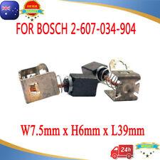 Carbon Brushes For Bosch GSR GSB 12V 14.4V 18V 24V 36V VE-2 Li 2607034904 AU