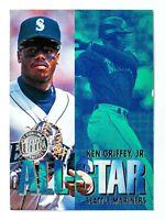 Ken Griffey Jr. #7 (1996 Fleer Ultra) All-Star Gold Medallion, Mariners, HOF