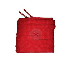Mr Lacy Slimmies - Red Oval Shoelaces - 130cm Length 8mm Width