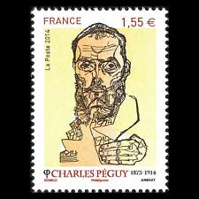 France 2014 - 100th Anniv of the Death of Charles Péguy Poet - Sc 4657 Mnh