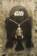 "Star Wars R2D2 Pendant 32"" Necklace.New. .c"