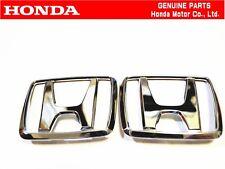 HONDA EF8 CRX SIR Front & Rear Genuine Badge Emblem hatchback JDM  OEM