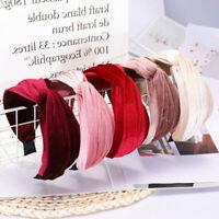Ladies Wide Headband Twist Knot Cross Hairband Alice Hair Hoop Band Accessories