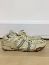 Diesel Size 4.5 Women's Cream Trainer Shoes