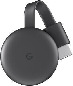 Google Chromecast 3. Generation HD Media Streamer - Schwarz