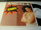 "RAR PROMO SINGLE 7"". ANGELA. DYNAMITE. ITALO DISCO. MADE IN SPAIN"