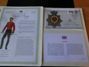 2008 GOLD PLATED COLOUR COIN COVER + COA HISTORY OF BRITISH ARMY SCOT GREYS