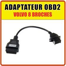 Prise OBD2 Volvo 8 broches - Diagnostic auto - Compatible Multidiag