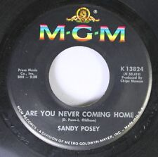 Rock 45 Sandy Posey Are You Never Coming Home / I Can Show You How To Live On Mg
