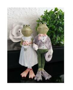 Frosch Frösche Gilde Geschenk Hochzeitsdeko Hochzeitsfrösche Tischdeko Tiere