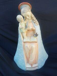 Hummel Figurine Flower Madonna #10/1 Western Germany excellent cond.