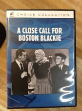 Close Call for Boston Blackie (DVD Used Like New)