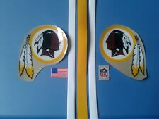 Washington Redskins football helmet decals set