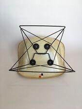 All original 1. Generation Zenith Eames Miller Rope Edge Fiberglass Lounge Chair