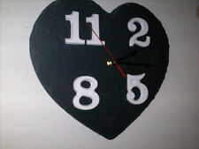 Slate Heart Clock.