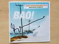 """Benny Andersson """"ABBA"""" Autogramm signed CD Booklet """"BAO!"""""""