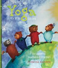 Yoga for Little Bears book for children, parents and teachers