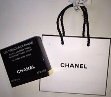 Authentic Chanel 80 Tweed Rose Peche Powder Blush Duo Tweed Effect LIMITED RARE