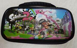 RDS Industries - Splatoon 2 Game Traveler Deluxe Travel Case for Nintendo Switch