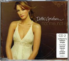 "DELTA GOODREM ""NotMe,NotI(CD2:CollectorsEdition)"" 2003 3Trk CD *Poster *TheVoice"