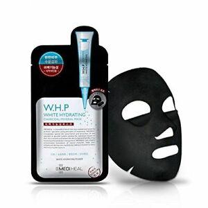 10 PCS  Mediheal WHP White Hydrating Black Mask Brightening Moisturising Clean