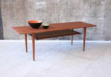 60er Peter Hvidt Teak Couchtisch Danish Mid-Century 60s Coffee Table Vintage 50s