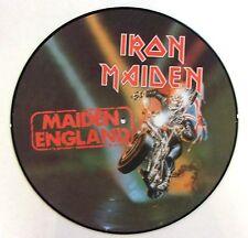 IRON MAIDEN VINYL LP MAIDEN ENGLAND - PICTURE DISC