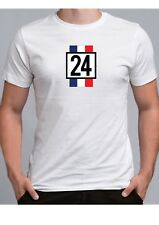 James Hunt 1974  Inspired t shirt no 24 308 F1 formula one Race driver racing