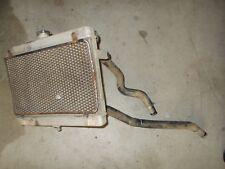 2009 Suzuki King Quad 750 Radiator Coolant Coil Fins Hoses Lines Cap / Damage