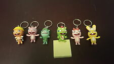 RARE Set of (6) Happy Tree Friends Keychains + Season 1 Complete Set UNWATCHED