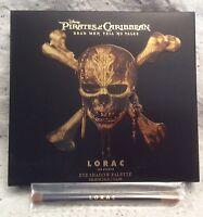 LORAC Pirates of the Caribbean Eye Palette Pencil Brush NIB Limited Edition
