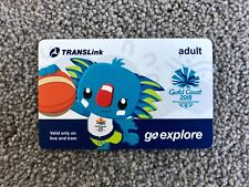 Gold Coast 2018 Commonwealth Games - Borobi Go Explore TransLink Transport Card