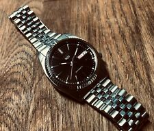 Used Seiko 7S26-3119 Style Modded Watch with Kanji Day - Seiko 7S26
