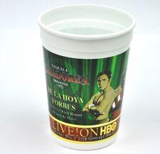 10 x Tequila Cazadores USA Plastik Becher Cups Boxen Motiv De La Hoya vs Forbes