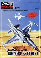 Paper-Card Model Kit - NORTHROP F-5 E TIGER II