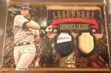 Derek Jeter 2014 Donruss Classics Legendary Lumberjacks GU Bat & Jersey 1 of 1