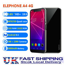 Elephone A4 Pro Smart Mobile Phone 4G Android 8.1 Octa Core 4+64GB 16+8MP 2*SIM