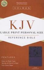 KJV Large Print Personal Size Bible (2013, Imitation Leather)