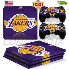 Sports Vinyl Decal Cover Skin Sticker for Sony PS4 Pro Console 2Controllers 5047
