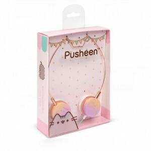 Pusheen Cat Wired Headphones * Official * BOXED, BRAND NEW, FAST UK DISPATCH *