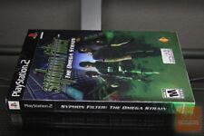 Syphon Filter: The Omega Strain (PlayStation 2, Ps2 2004) Y-Fold Sealed! - Rare!
