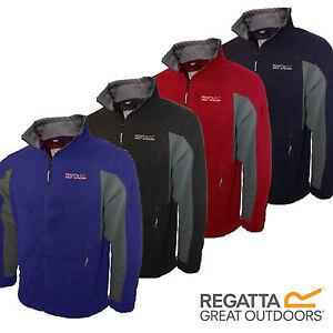 Regatta Fleece Mens Sigma,Energise II, Micro, Thompson, Landgale Jacket Logo New