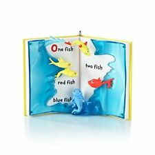 One Fish Two Fish 2013 Hallmark Red Fish Blue Fish Ornament - Dr. Seuss - NIB